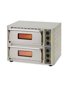 This is an image of a Roller Grill Double Deck Pizza Oven PZ430 D