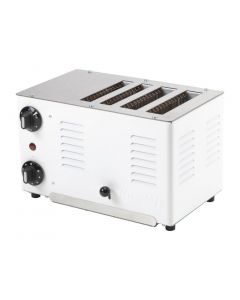 This is an image of a Rowlett Regent Thick n Thin Toaster White