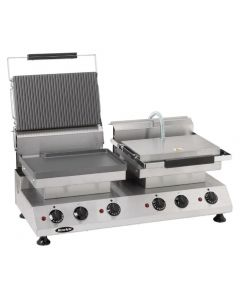 This is an image of a Rowlett Rutland Express Contact Grill Double FlatRibbed