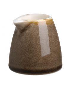 This is an image of a Olympia Kiln Bark Milk Jug - 96ml 3oz (Box 6)
