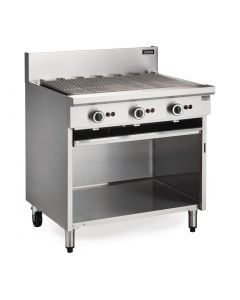 This is an image of a Blue Seal Cobra Natural Gas Chargrill CB9