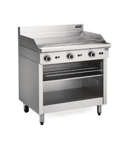 This is an image of a Blue Seal Cobra Natural Gas Griddle Toaster CT6