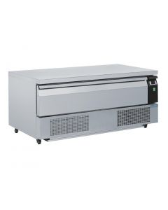 This is an image of a Polar Single Drawer Counter FridgeFreezer 3xGN