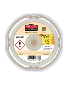This is an image of a Rubbermaid TCell 20 Refill Citrus Zest