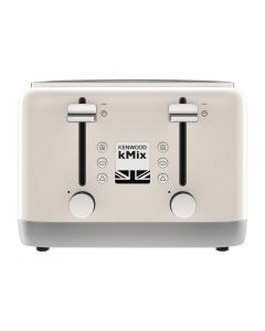 This is an image of a Kenwood kMix 4 Slot Toaster Cream TFX750CR