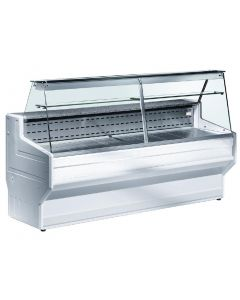 This is an image of a Zoin Hill Slimline Deli Serve Over Counter Chiller White 2500mm HL250B