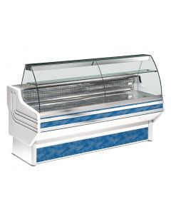 This is an image of a Zoin Jinny Ventilated Butcher Serve Over Counter Chiller 1500mm