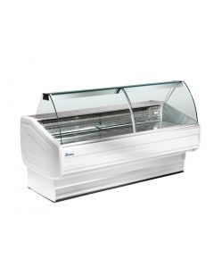 This is an image of a Zoin Melody Ventilated Butcher Serve Over Counter Chiller 2000mm MY200BC