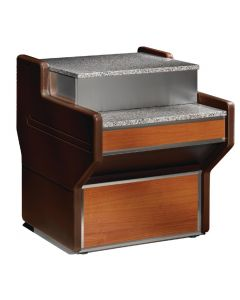 This is an image of a Zoin Sandy Cash Desk 1000mm TE100ME