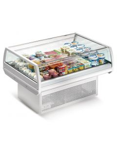 This is an image of a Zoin Artemis AR Island Display Chiller 1290mm AR129B