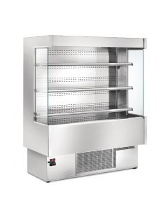 This is an image of a Zoin Silver SI Multi Deck Display Chiller 1500mm Wide SI150B