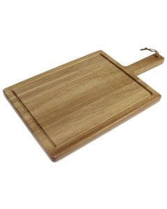 This is an image of a Tuscany Small Handled Steak Board - 260x190mm 100mm handle