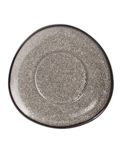 "This is an image of a Olympia Mineral Triangular Saucer - 150mm 6"" (Box 6)"