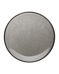 """This is an image of a Olympia Mineral Flat Coupe Plate - 228mm 9"""" (Box 6)"""