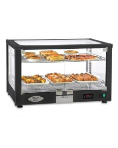 This is an image of a Roller Grill Heated 2 Shelf Display Cabinet WD780 SN