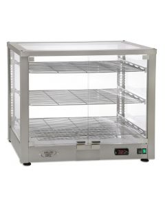 This is an image of a Roller Grill Heated 3 Shelf Display Cabinet WD780 DI