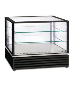 This is an image of a Roller Grill Countertop Display Fridge 21GN Black CD800 N