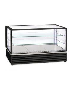 This is an image of a Roller Grill Countertop Display Fridge 31GN Black CD1200 N