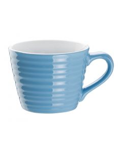 This is an image of a Olympia Cafe Aroma Mug Blue - 230ml 8oz (Box 6)