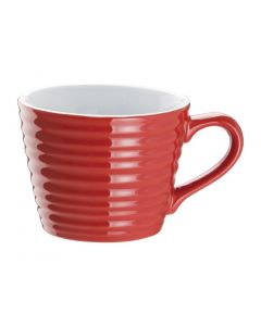 This is an image of a Olympia Cafe Aroma Mug Red - 230ml 8oz (Box 6)
