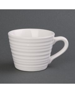 This is an image of a Olympia Cafe Aroma Mug White - 230ml 8oz (Box 6)