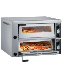 This is an image of a Lincat Double Deck Pizza Oven PO430-2-3P