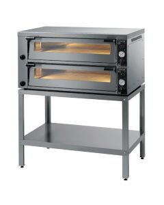 This is an image of a Lincat Double Deck Pizza Oven PO630-2-3P