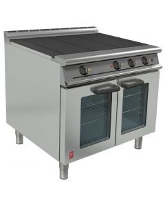 This is an image of a Falcon Dominator Plus Electric Oven Range on Feet E3101 OTC 3HP