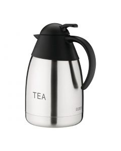 This is an image of a Vacuum Jug StSt Domed Lid - 15Ltr 'TEA'