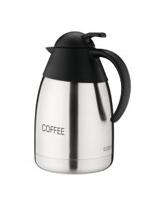 This is an image of a Vacuum Jug StSt Domed Lid - 15Ltr 'COFFEE'