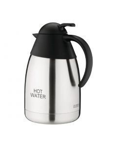 This is an image of a Vacuum Jug StSt Domed Lid - 15Ltr 'HOT WATER'