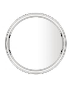 """This is an image of a Circular Serving Tray StSt - 14"""""""