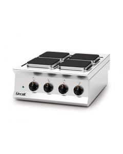 This is an image of a Lincat Opus 800 Electric 4 Plate Boiling Top OE8012