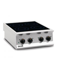 This is an image of a Lincat Opus 800 Induction Hob OE8014