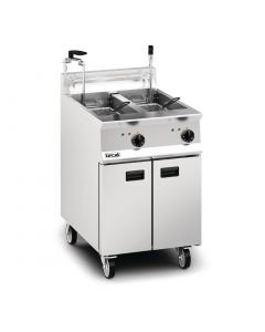 This is an image of a Lincat Opus 800 Electric Fryer Twin Tank 600mm Twin Pumped Filtration (Direct)