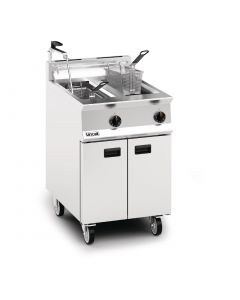 This is an image of a Lincat Opus 800 Natural Gas Fryer OG8111OPN