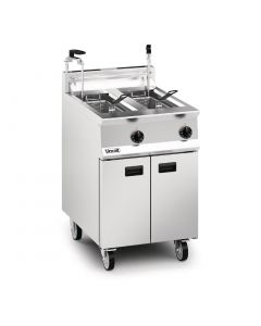 This is an image of a Lincat Opus 800 Natural Gas Fryer OG8111OP2N