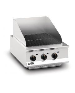 This is an image of a Lincat Opus 800 Propane Gas Chargrill OG8401P