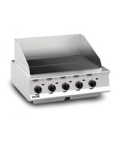 This is an image of a Lincat Opus 800 Natural Gas Chargrill OG8402N