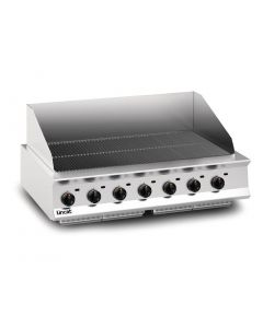 This is an image of a Lincat Opus 800 Propane Gas Chargrill OG8403P