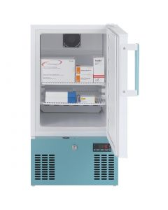 This is an image of a Lec Medical 1 Door 41Ltr Countertop Pharmacy Fridge PE102C
