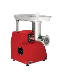 This is an image of a Santos 12-12 Meat Mincer Red