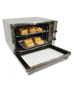 This is an image of a Burco 23GN Electric Convection Oven 444441151