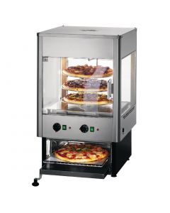 This is an image of a Lincat Heated Pizza Warmer and Oven UMO50