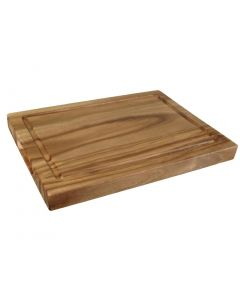 This is an image of a Olympia Steak Board Acacia Small - 260x190mm no recess