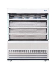 This is an image of a Williams Gem 1510mm Slimline Multideck Stainless Steel with Nightblind R150-SCN