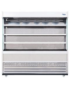 This is an image of a Williams Gem 1856mm Slimline Multideck Stainless Steel with Nightblind R180-SCN