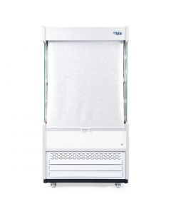 This is an image of a Williams Gem 1250mm Slimline Multideck White with Nightblind R125-WCN