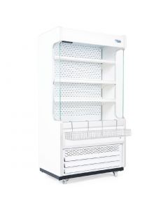 This is an image of a Williams Gem 1856mm Slimline Multideck White with Nightblind R180-WCN