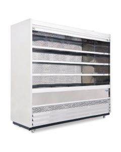 This is an image of a Williams Gem 1856mm Slimline Multideck Stainless Steel with Security Shutter R180-SCS